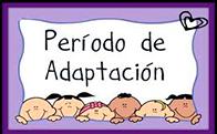 Periodo Adaptación Infantil